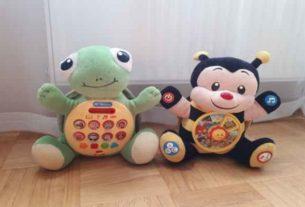 Żółw Albert czyli zabawka edukacyjna dla najmłodszych.